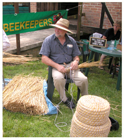 Skep making with The Wiltshire Beekeeper